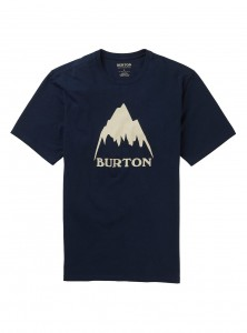 Koszulka Burton Classic Mountain Dress Blue