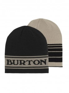Czapka dwustronna Burton Billboard true black/irngry
