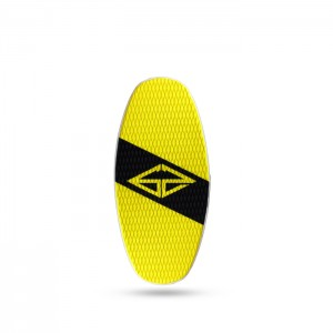 Skimboard GoZone Junior Black/Yellow HPL + EVA